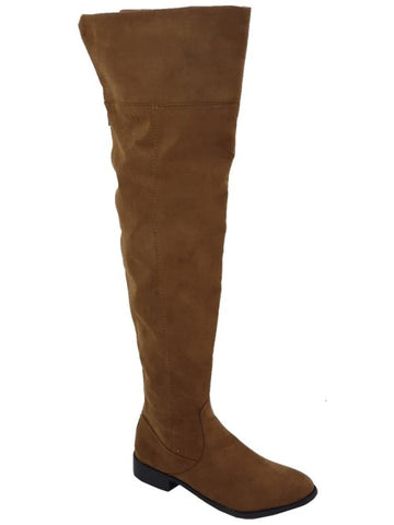 FINAL CLEARANCE: Fabric Over The Knee / Thigh High Boots