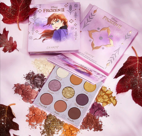 Colourpop Disney Frozen Anna Eyeshadow Palette