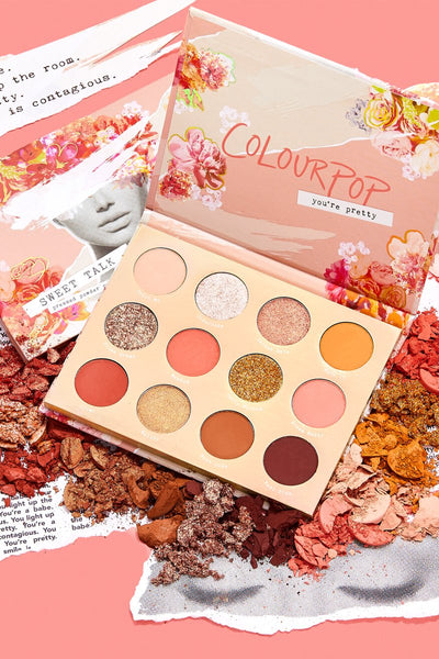 Colourpop Sweet Talk Shadow Palette