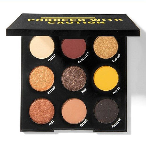Colourpop Proceed with Caution Shadow Palette