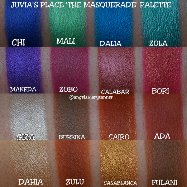 Juvias The Masquerade Palette | LARGE