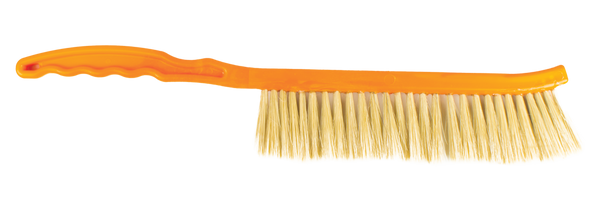Bee brush, Long plastic handle