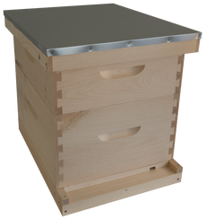 Complete Hive Kit with 2 Deep Body (Unassembled)
