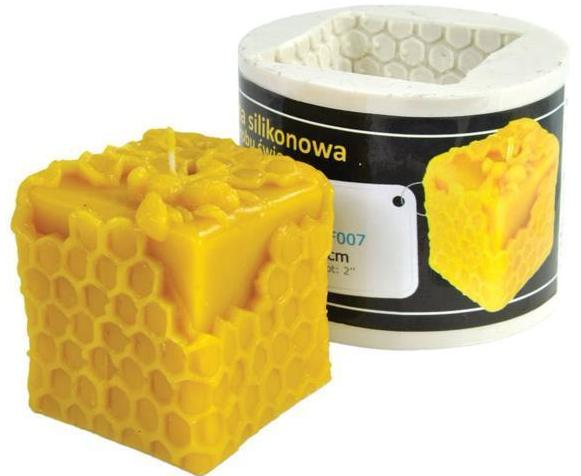 Cube Honey Candle Mold