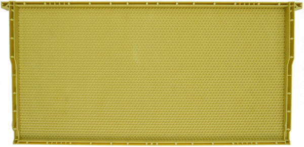 Deep Plastic Frame (Yellow - Wax Coated)