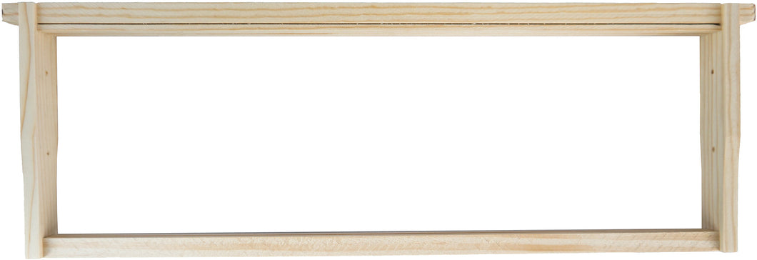 Medium Wooden Frame for Wax Foundation (10pk)