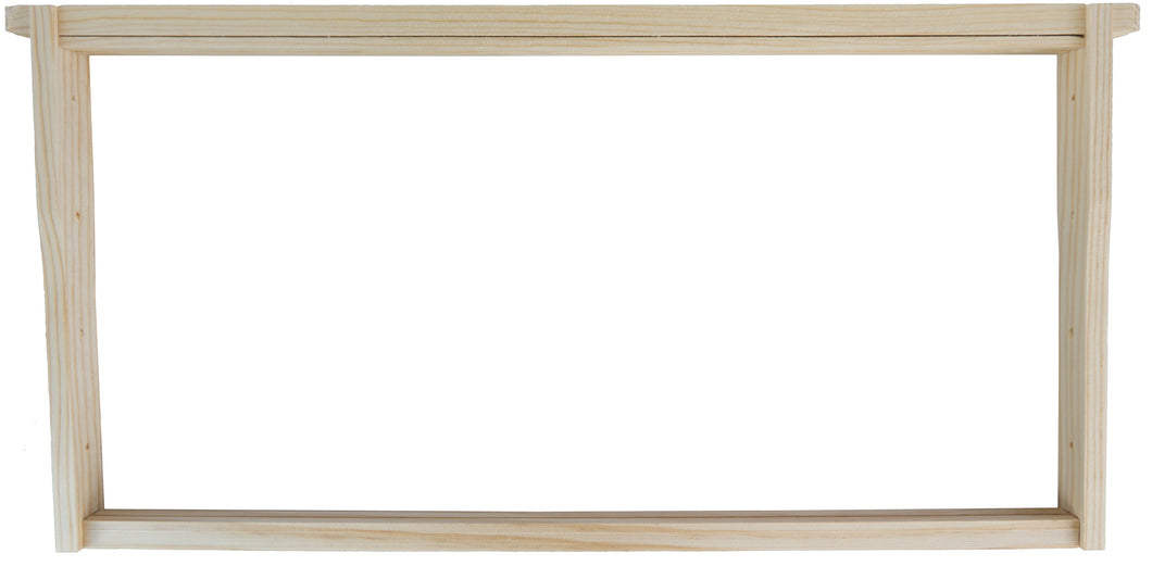Deep Wooden Frame for Wax Foundation (10pk)