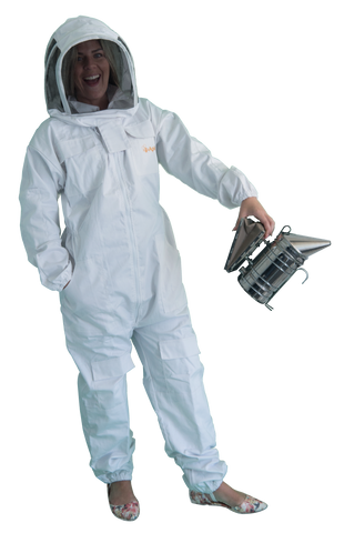 White Beekeeping Suit - Standard