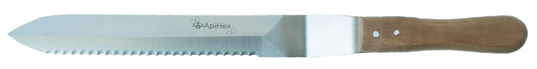 Uncapping Knife - Small - Serrated one side