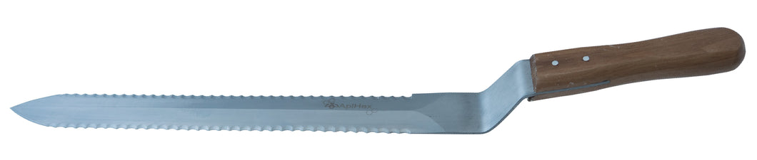 Uncapping Knife - Large - Double serrated