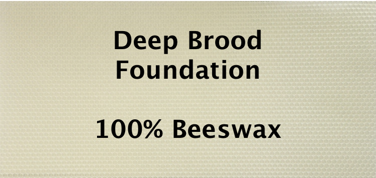 Deep Brood Wax Foundation