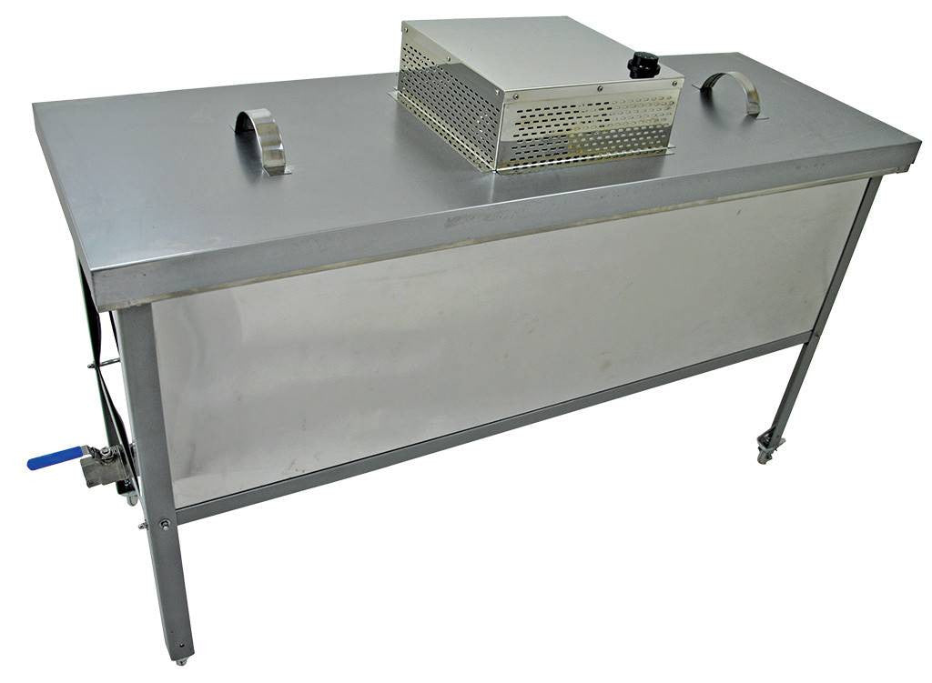 Heated Uncapping Table Cover 150cm for Reinforced
