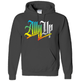 ALLY UP, BLACK LIVES MATTER, ALLIES, ADULT HOODIE