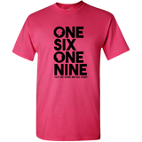 One Six One Nine,1619,Black Lives Matter Adult Unisex Tee Standard T