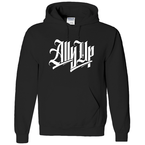 ALLY UP, BLACK LIVES MATTER, ALLIES ADULT HOODIE