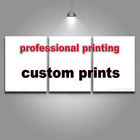 3 Panel Custom Canvas Prints-30cmx60cmx3pcs-Framed-White-Cool Tees & Things