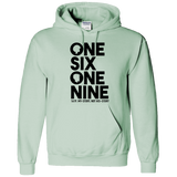 ONE SIX ONE NINE,1619,BLACK LIVES MATTER ADULT HOODIE