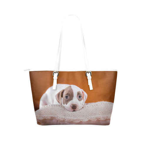 Adorable Pit Bull Tote - Cool Tees and Things