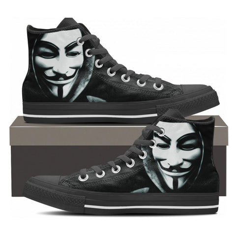 Anonymous High Tops - Cool Tees and Things