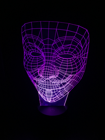 Anonymous Led Night Light - Cool Tees and Things