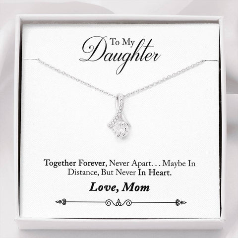 TO MY DAUGHTER FROM MOM- PENDANT COOL TEES AND THINGS