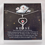 You Were Born To Be A Nurse Pendant