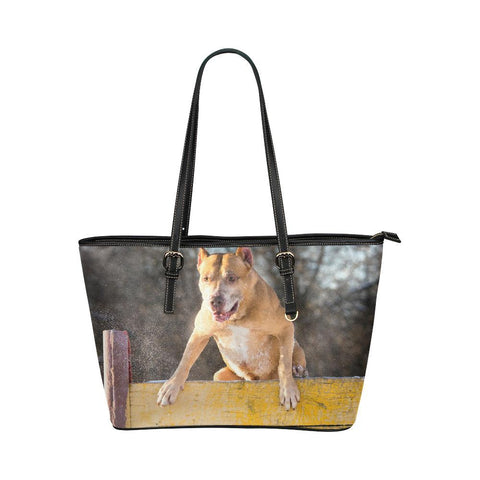 Athletic Pit Bull Tote - Cool Tees and Things