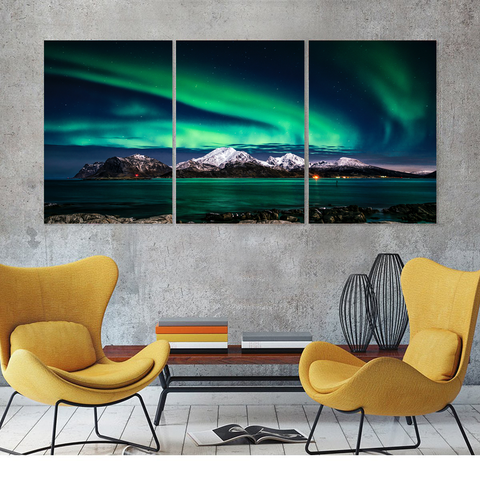 Aurora Borealis-Medium-Not Framed-Cool Tees & Things