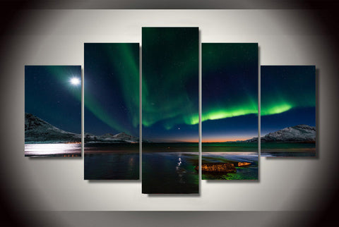 Aurora Night-Medium-Not Framed-Cool Tees & Things