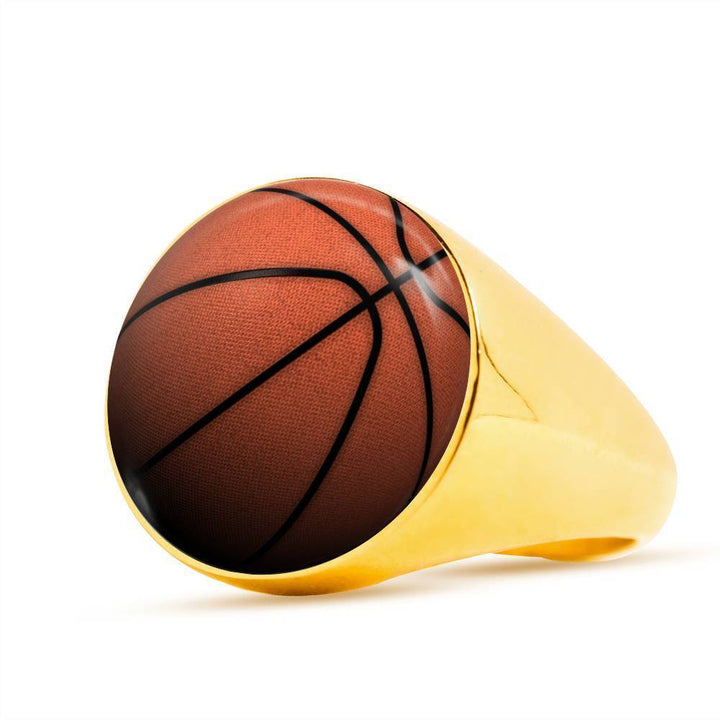 Basketball Luxury Ring - Cool Tees and Things