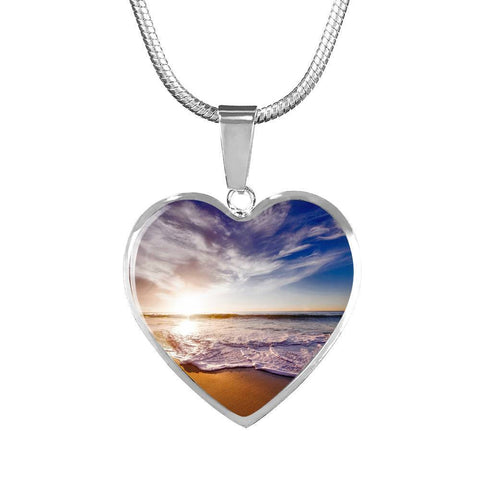 Beautiful Beach Pendant and Bangle Jewelry - Cool Tees and Things