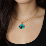 Beautiful Sea Turtle Pendant - Cool Tees and Things