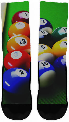 Billiards Crew Socks - Cool Tees and Things