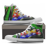 Billiards High Tops - Cool Tees and Things