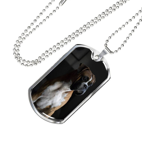 Boxer Dog Lovers Pendant - Cool Tees and Things