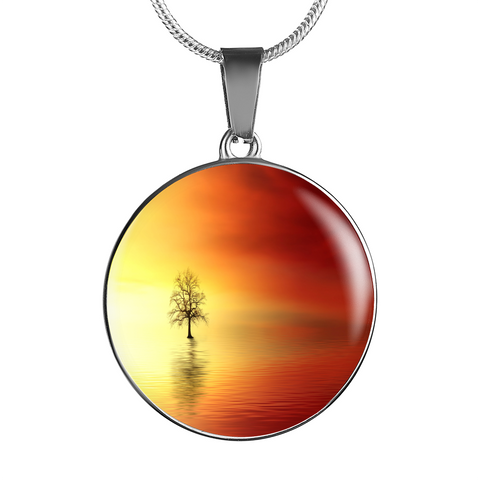 Breathtaking Sunset Pendant - Cool Tees and Things