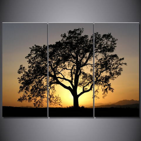 California Oak Tree-Medium-Not Framed-Cool Tees & Things