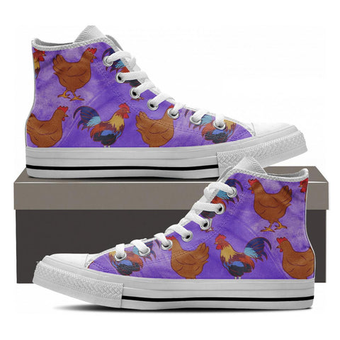 Chicken High Tops - Cool Tees and Things