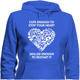 Cute Enough to Stop Your Heart - Cool Tees and Things