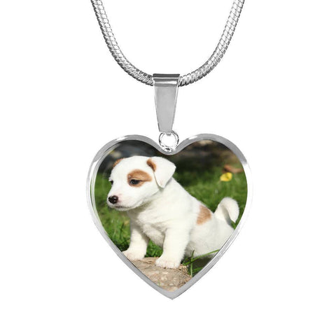 Cute Jack Russell Puppy Pendant - Cool Tees and Things