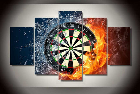 Dart Board-Medium-Not Framed-Cool Tees & Things