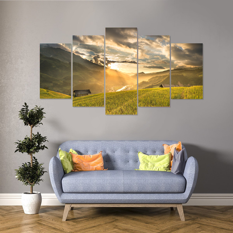 Dawn of a New Day Canvas-Medium-Not Framed-LightGoldenrodYellow-Cool Tees & Things