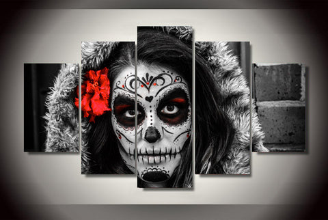 Day of the Dead  Portrait - Cool Tees and Things