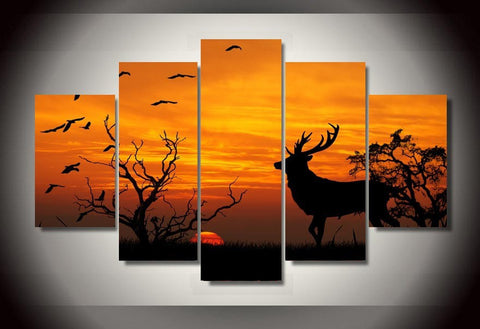 Deer Lovers Canvas - Cool Tees and Things
