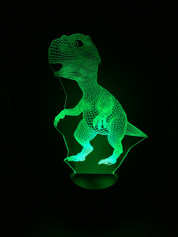 Dinosaur Led Night Light - Cool Tees and Things