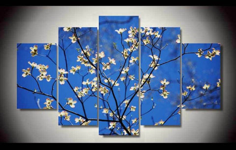 Dogwood Blossoms-Medium-Not Framed-Cool Tees & Things