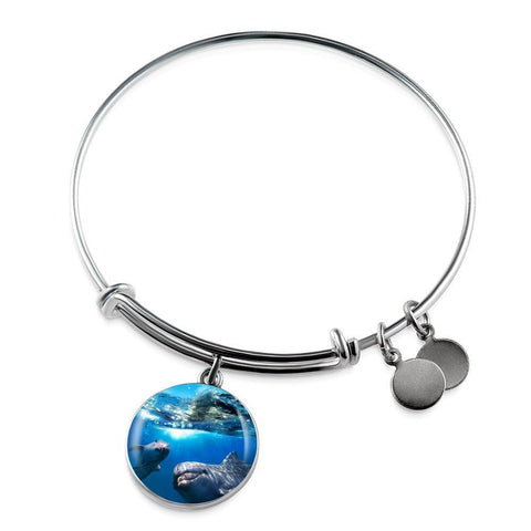 Dolphin Friends Bangle - Cool Tees and Things