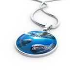 Dolphin Friends Pendant Necklace - Cool Tees and Things