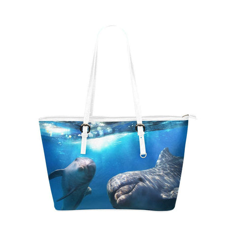 Dolphin Friends Tote - Cool Tees and Things