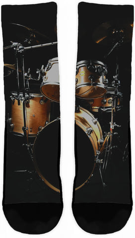 DRUMS CREW SOCKS - Cool Tees and Things
